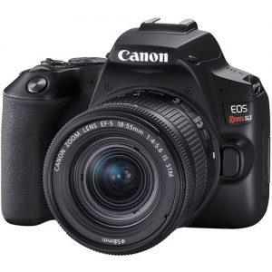 Cámara Canon Sl3 Con Lente 18-55mm 24mpx Video 4k