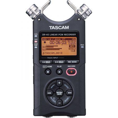 Tascam Dr-40 Grabadora Digital Portatil