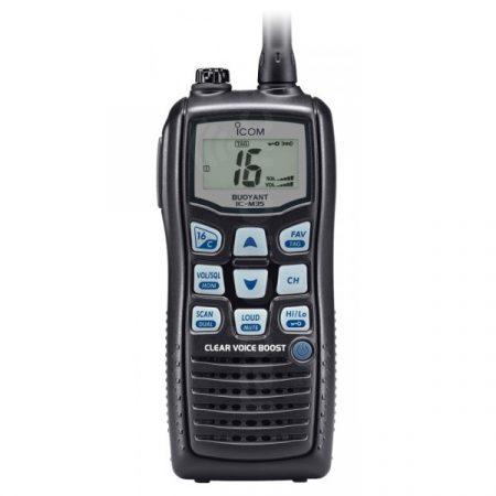 Radio Vhf Portatil Icom Ic-m35 solo en tecnologiaenoferta